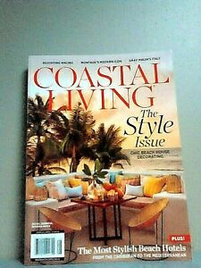 New Coastal Living Magazine The Style Issue Fall 2019 Edition