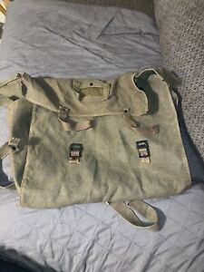 ANTIQUE MILITARY BACKPACK Unsure From What Country $25.00
