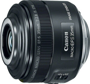 Canon EF S 35mm f 2.8 Macro IS STM $349.00