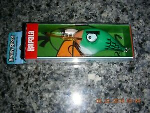 One Rapala Angry Birds DT-10 Green Bird Lure
