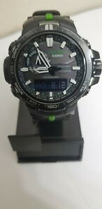 CASIO PROTREK PRW-6000Y-1ACR Men's Wrist Watch - Black and green