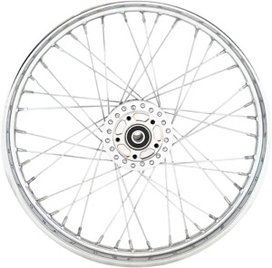 Drag Specialties 0203-0628 Replacement Laced Wheels Front 21x2.15