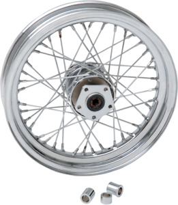 Drag Specialties 0203-0418 Replacement Laced Wheels Front 16x3