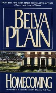 Homecoming, Plain, Belva, Good Condition, Book