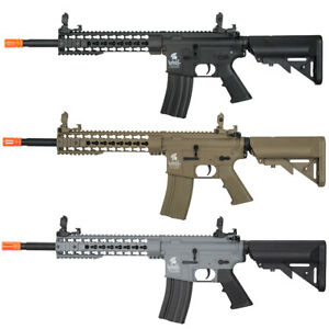 Lancer Tactical Gen2 M4 10quot; KeyMod RIS Airsoft Rifle w Battery amp; Charger LT 19 $159.95