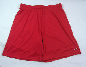 Nike Men's Athletic Dri-Fit Shorts Size XXL Red NWOT