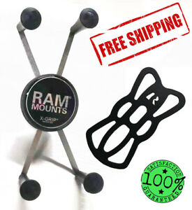 Ram Mount X-Grip Cradle Holder for Universal Large Cellphone with 1-Inch Ball