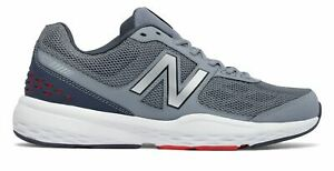 New Balance Men#x27;s 517v1 Shoes Grey with Grey amp; Red