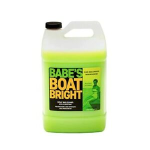 Babe's Boat Bright Spray Wax Cleaner - Gallon