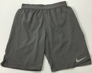 "Nike Men's Flex Stride 9"" Brief Lined Running Shorts CD8329 Grey 056 Size M $29.99"