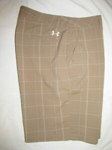 UNDER ARMOUR   ~ Mens  CASUAL  GOLF  Shorts ~ Sz 38 ~ EXCELLENT