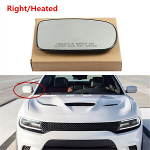 Right Electric Power Heated Wing Mirror Glass Fit For CHRYSLER 300 2011 2019 $21.85