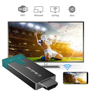 D4 WiFi Display Dongle Adapter 1080P HDMI Miracast AirPlay for iOS Android AH619