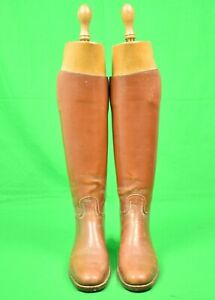 Peal & Co London Ladies' Riding Hunting Boots w Trees