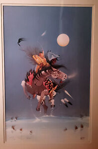 Rance Hood Limited Edition Signed Lithograph $125.00