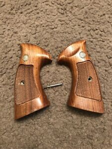 Original Factory K Frame Smith and Wesson S&W Target Revolver Pistol Grips