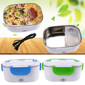 New Quality Portable Electric Heating Lunch Box Food Storage Container Heater US