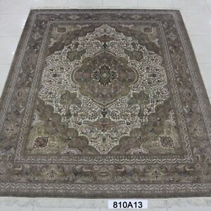 YILONG 8'x10' Handwoven Silk Carpet Eco Friendly Home Interior Design Area Rug