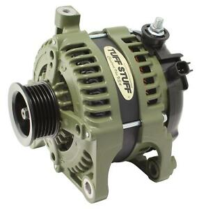 Alternator Tuff Mudder 175 Amp 6G Army Green Powdercoat 2007-11 Wrangler JK Each