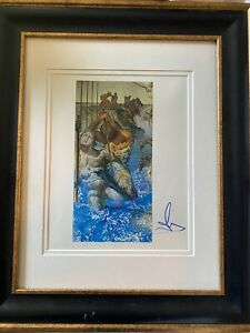 SALVADOR DALI SIGNED PRINT quot;TUNA FISHINGquot; 1967 VERIFIED AUTHENTIC BY PSA DNA $995.00