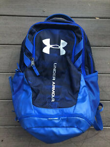 Under Armour Storm Boys Youth Backpack Navy Blue EXCELLENT