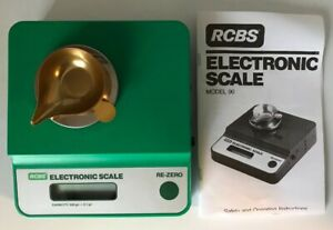 RCBS Electronic Scale Digital Powder Bullet Scale 500 Gn Model 90 for Reloading
