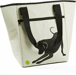 Fit & Fresh Coronado Insulated Lunch Cooler Tote Bag For Dog Lovers Picnic