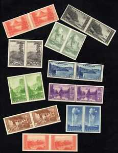 MALACK 756 765 F VF NGAI Pairs, Great Set **Stoc..MORE.. w3151