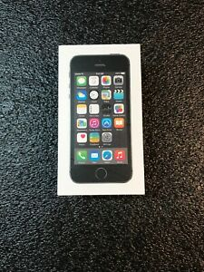 EMPTY BOX ONLY RETAIL PACKING FOR APPLE IPHONE 5S 5
