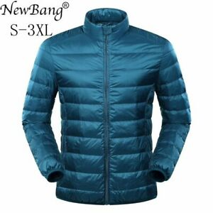 Winter  Feather Jacket  Ultra Light Down Jacket for Men