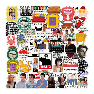 54pcs Friends tv Show Creative DIY Stickers Decorative waterproof, USA SHIP!