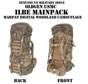 US MILITARY ARCTERYX USMC ILBE MARPAT MAIN PACK BACKPACK RUCK COMPLETE VGC