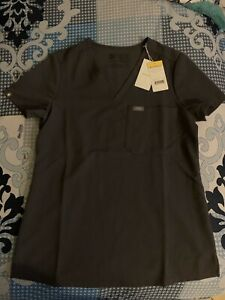 Figs Scrubs Set Women Size XSmall Top Small Bottom Charcoal - Sold Out Style