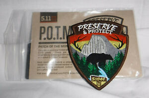 5.11 TACTICAL PATCH OF THE MONTH Great Outdoors 511044 August NEW POTM