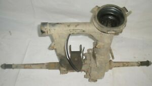 1985 Yamaha 225 DX Tri Moto 3 Wheeler Rear End Axle Differential Swing Arm