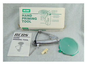 RCBS HAND PRIMING TOOL LARGE AND SMALL RODS