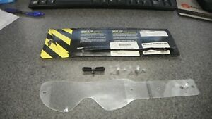 Scott Voltage Works Pro Google Clear Tear Off Replacement Lenses 205155 223 QTY3 $9.99