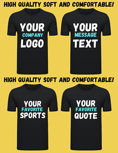 T Shirt Custom heat printed HQ Custom Made Personalized Your Favorite Photos $14.99