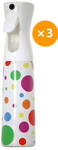 Delta 10oz Polka Dot Sprayer, Watering, Gardening , Hair and More, Pack of 3
