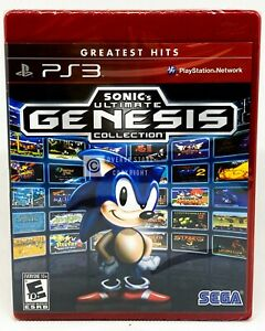 Sonic's Ultimate Genesis Collection PS3 Brand New Factory Sealed