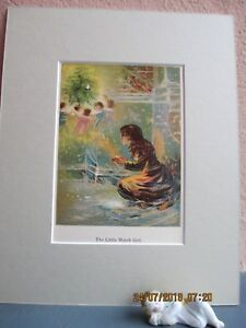 antique lithograph illustration of Andersen's