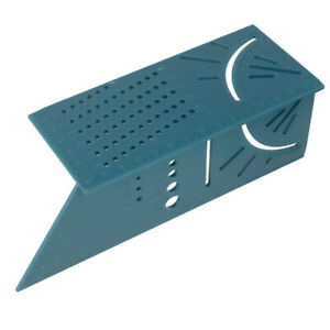 Wolfcraft 3D Mitre Angle Measuring Square Size Measure Tool With Gauge Ruler New