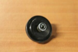 80 20 Inc T Slot 10 Series Black Nylon 1.50 Roller Wheel #2281 E2 13