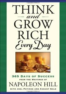 Think and Grow Rich Every Day 365 Days of Success From the Inspira $15.85