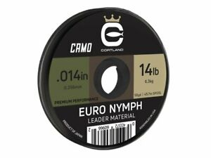 Cortland Euro Nymph Leader Material 50yd 45.7m Fly fishing