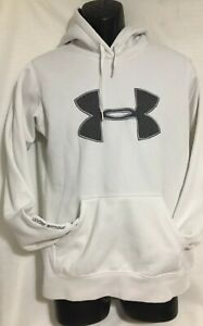 Youth Under Armour Coldgear Storm Pullover Hoodie SZ XL White $13.99