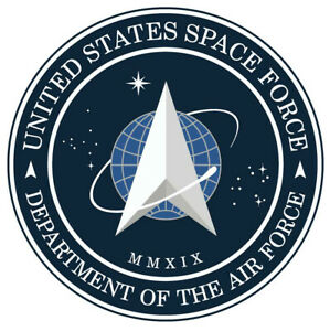 US Space Force Official Insignia Logo Sticker $3.99