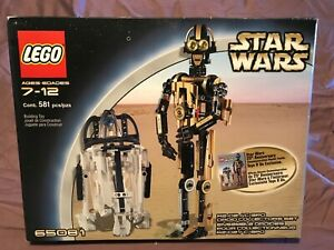 Lego Star Wars 65081 R2D2 C3PO Droid Collector New Sealed Box