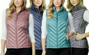 NEW 32 Degrees Women#x27;s Packable Puffer Vest SIZE amp; COLOR VARIETY $24.99