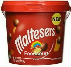 Mars Maltesers Chocolate Party Bucket Malt Ball 31 OZ